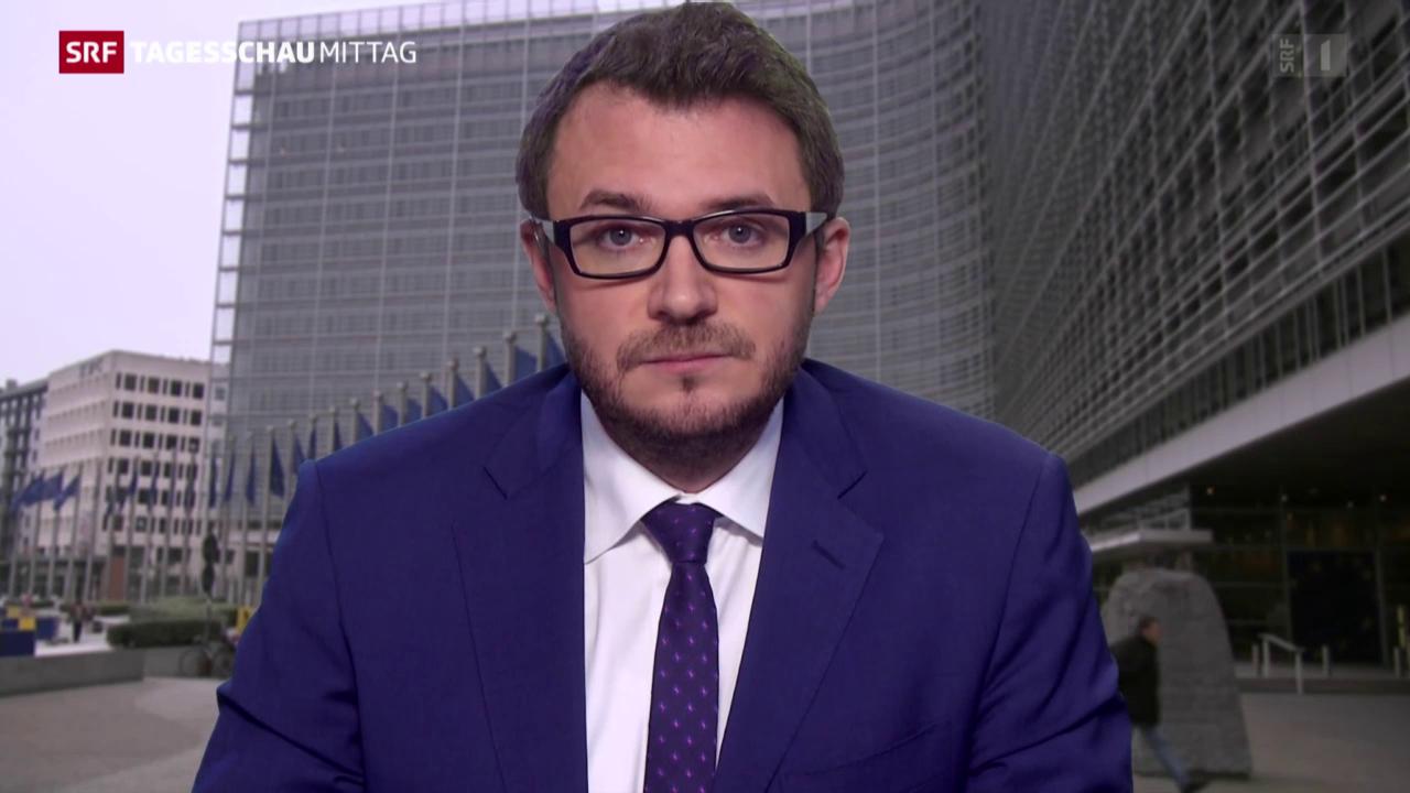 Einschätzung SRF-Korrespondent Sebastian Ramspeck in Brüssel