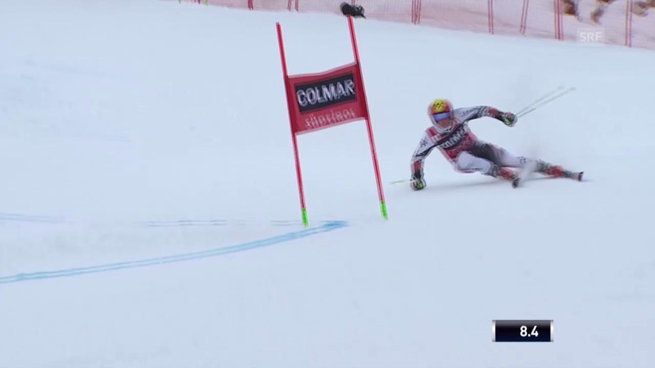 Ski Alpin: Abfahrt Männer in Alta Badia, 1. Lauf von Hirscher («sportlive», 22.12.2013)