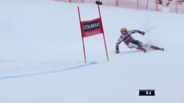 Video «Ski Alpin: Abfahrt Männer in Alta Badia, 1. Lauf von Hirscher («sportlive», 22.12.2013)» abspielen