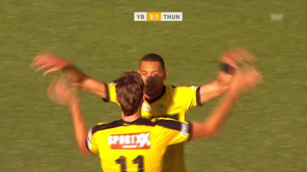 Video «YB lässt Thun im Derby keine Chance» abspielen