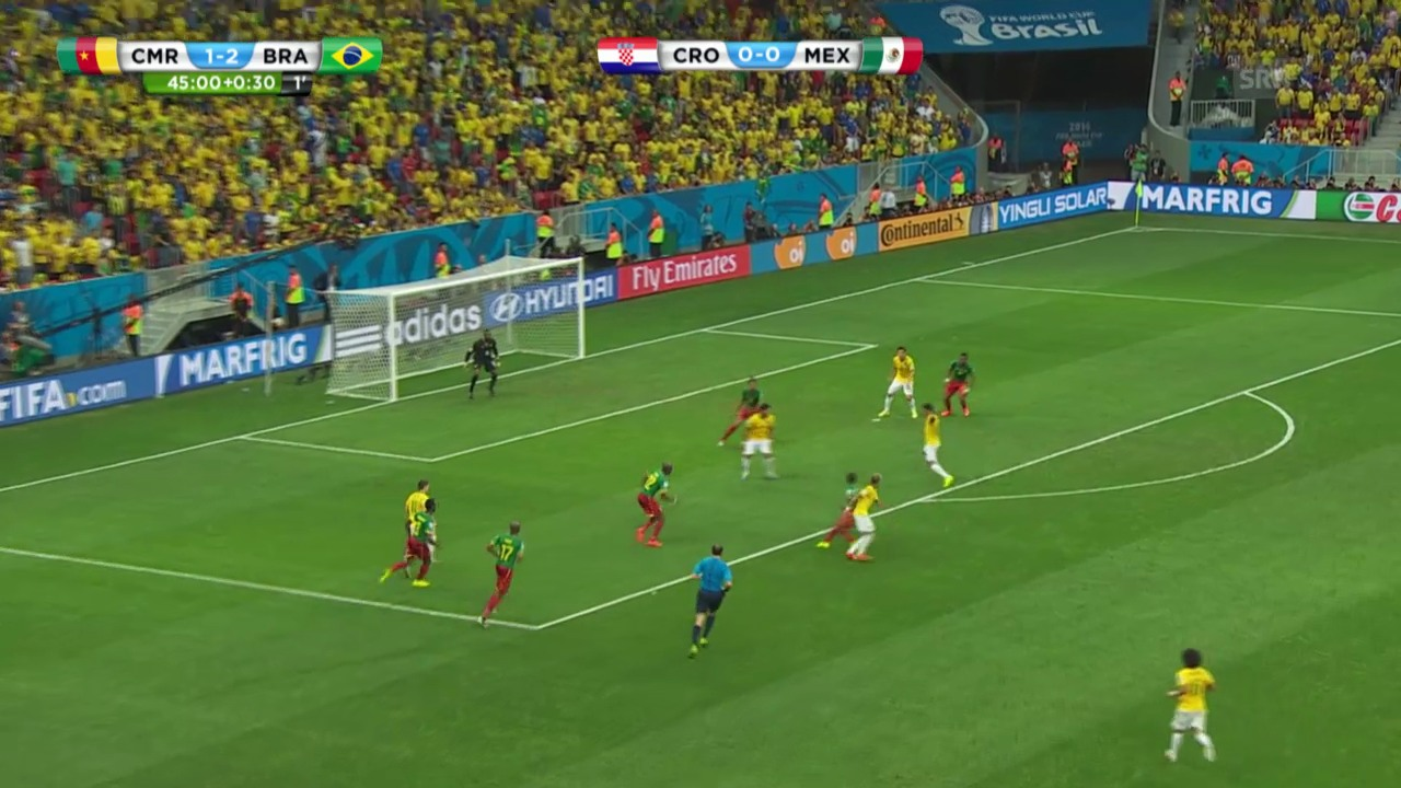 Kamerun - Brasilien: Die Live-Highlights