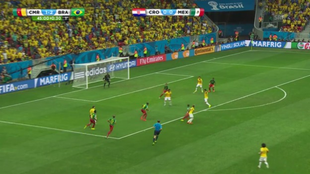 Video «Kamerun - Brasilien: Die Live-Highlights» abspielen