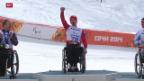 Video «Paralympics: Riesenslalom» abspielen