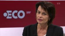 Video «Doris Leuthard über eine Reform bei den Wasserzinsen» abspielen