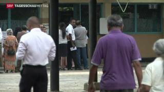 Video «Wahlen in Sri Lanka» abspielen