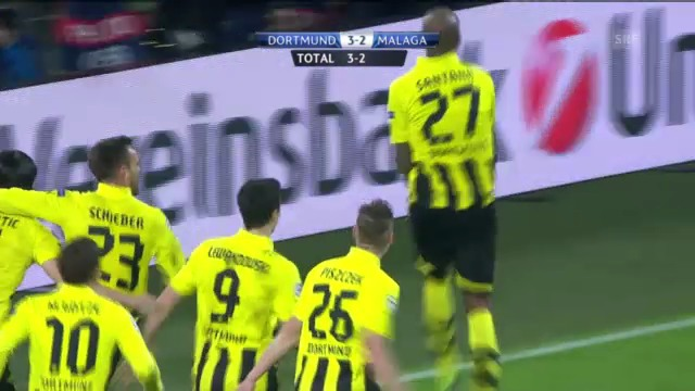 Zusammenfassung Dortmund - Malaga