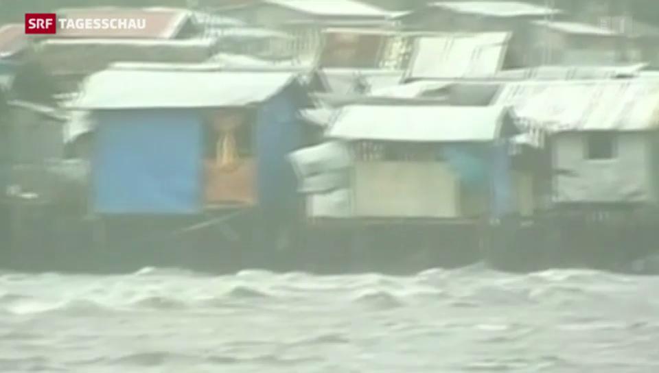 «Hagupit» trifft auf Philippinen