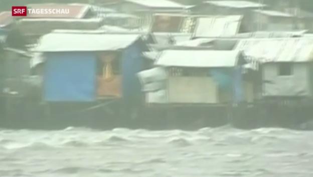 Video ««Hagupit» trifft auf Philippinen» abspielen