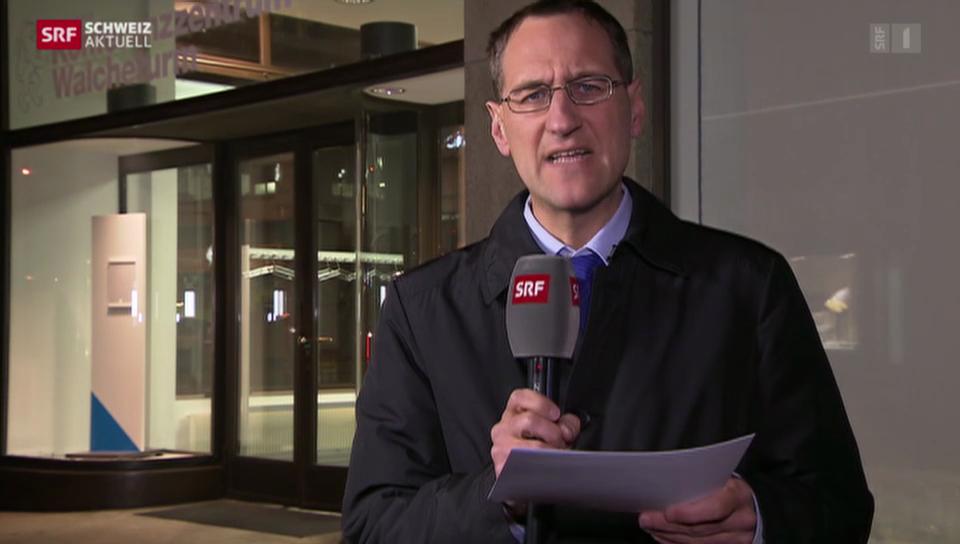 SRF-Korrespondent Kay Schubert zur Affäre