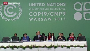 Video «Auftakt der Klimakonferenz in Warschau» abspielen