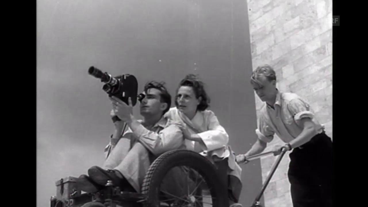 Leni Riefenstahl ( Tagesschau, 22.8.2002)
