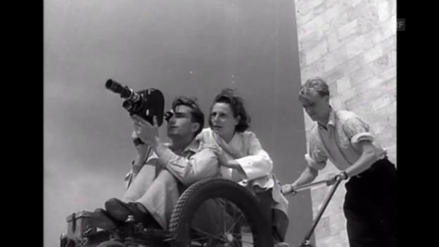 Video «Leni Riefenstahl ( Tagesschau, 22.8.2002)» abspielen