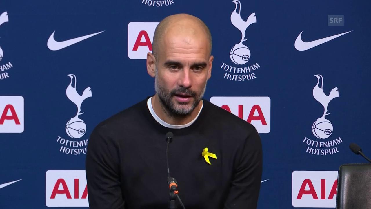 Guardiola: «... dann verstehen sie nichts vom Fussball»