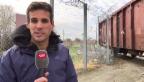 Video «SRF-Reporter Marcel Anderwert auf der Balkanroute» abspielen