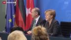 Video «Türkischer Ministerpräsident Erdogan zu Besuch in Deutschland» abspielen
