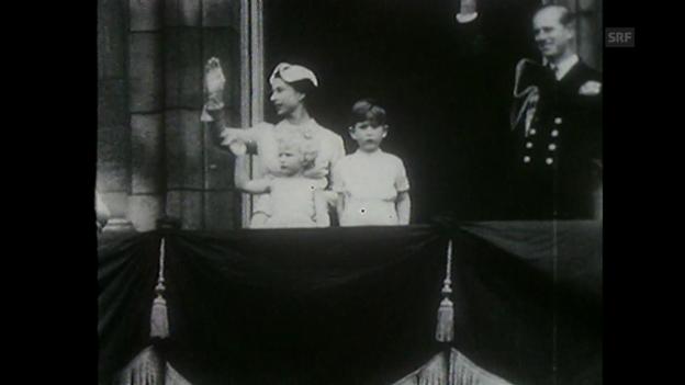 Video «Jahresrückblick 1954 (Tagesschau vom 30.12.1954)» abspielen