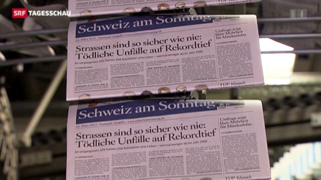 Neue Zeitung «Schweiz am Sonntag»