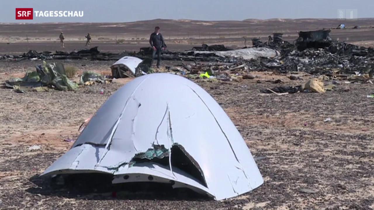 Neue Erkenntnisse zum Sinai-Crash