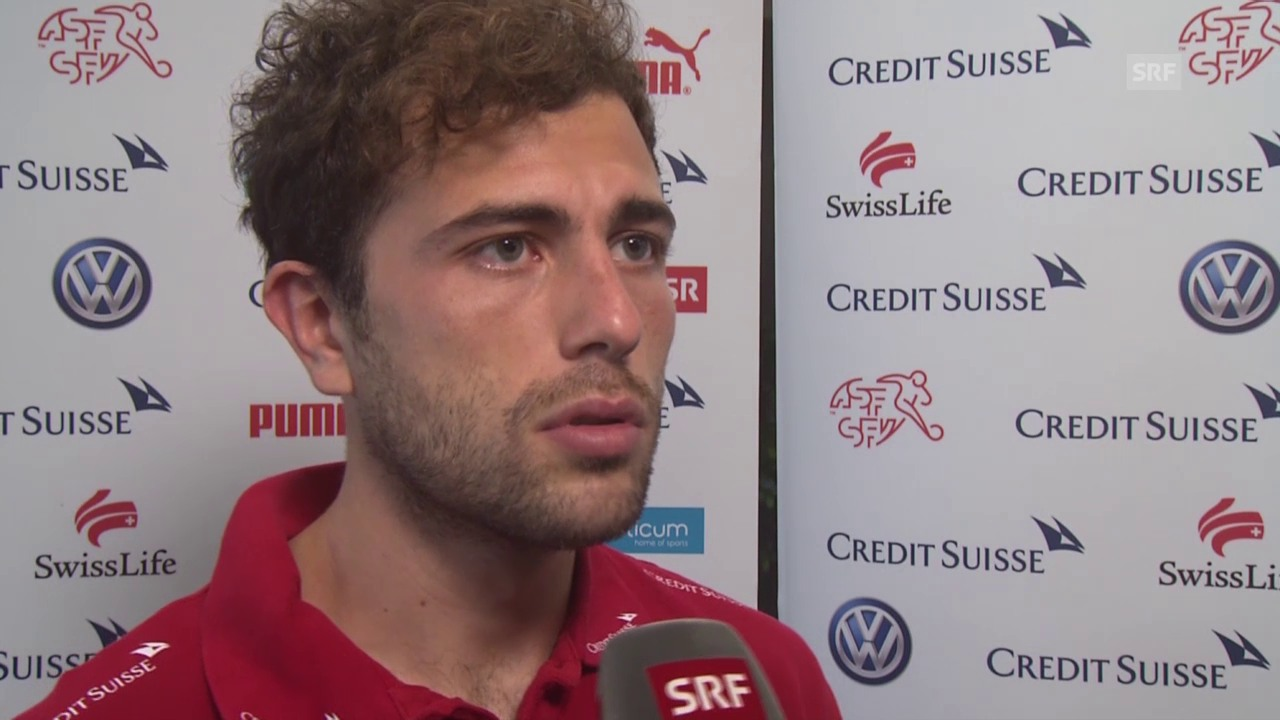 Fussball: Interview mit Admir Mehmedi