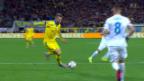 Video «Fussball: EURO-Barrage, Ukraine - Slowenien» abspielen