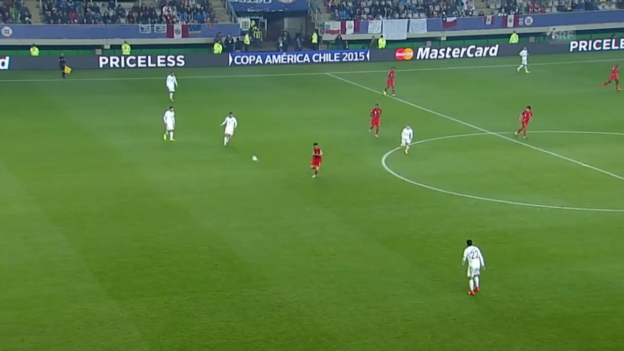 Fussball: Copa America, Viertelfinal, 3:0 Peru