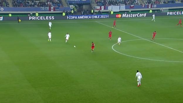 Video «Fussball: Copa America, Viertelfinal, 3:0 Peru» abspielen