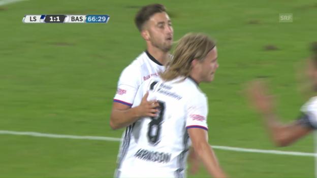 Video «Lausanne - Basel: Die Tore» abspielen