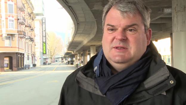 Video «Mike Müller über die Erlebnisse mit Mathias Gnädinger» abspielen