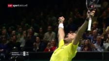 Link öffnet eine Lightbox. Video Wawrinka schafft in Rotterdam den Final-Einzug abspielen