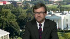 Video «Einschätzungen von SRF-Korrespondent Peter Düggeli, Washington» abspielen