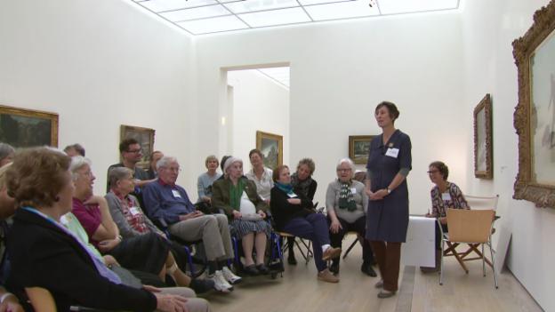 Video «Trotz Alzheimer ins Museum» abspielen