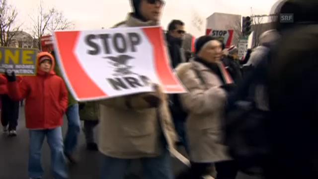 Demo gegen Waffen
