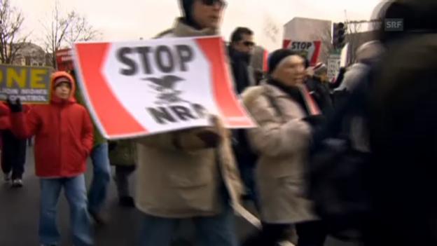 Video «Demo gegen Waffen» abspielen