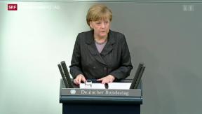 Video «Merkel warnt Russland vor Annexion der Krim» abspielen