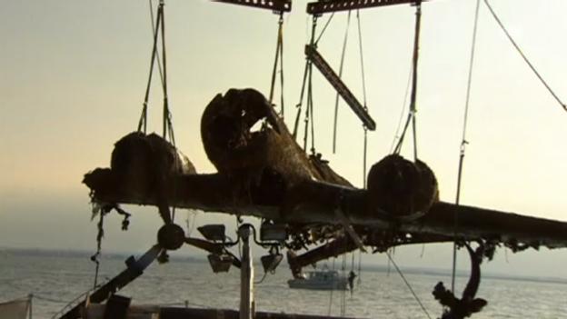 Video «Bomber nach 70 Jahren geborgen (unkomm.)» abspielen