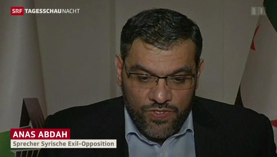 «Nationale Koalition bestätigt volle Teilnahme»