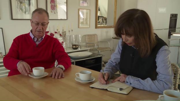 Video «Für ihre Arbeit reichen ihr Notitzblock und Bleistift» abspielen
