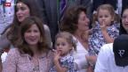 Video «Nicht nur bei Federers» abspielen