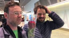 Video «Nik Hartmann und Marco Thomann holen Gold-Wendy ab» abspielen