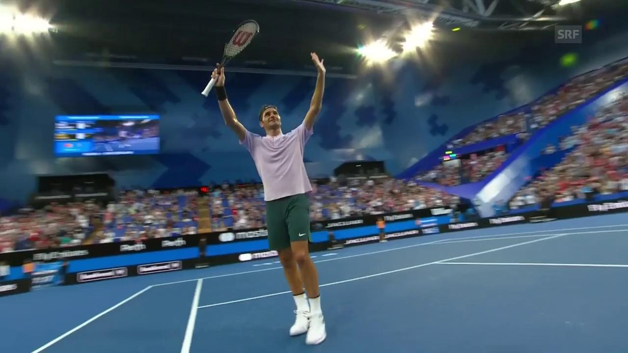 Zusammenfassung: Federer - Chatschanow