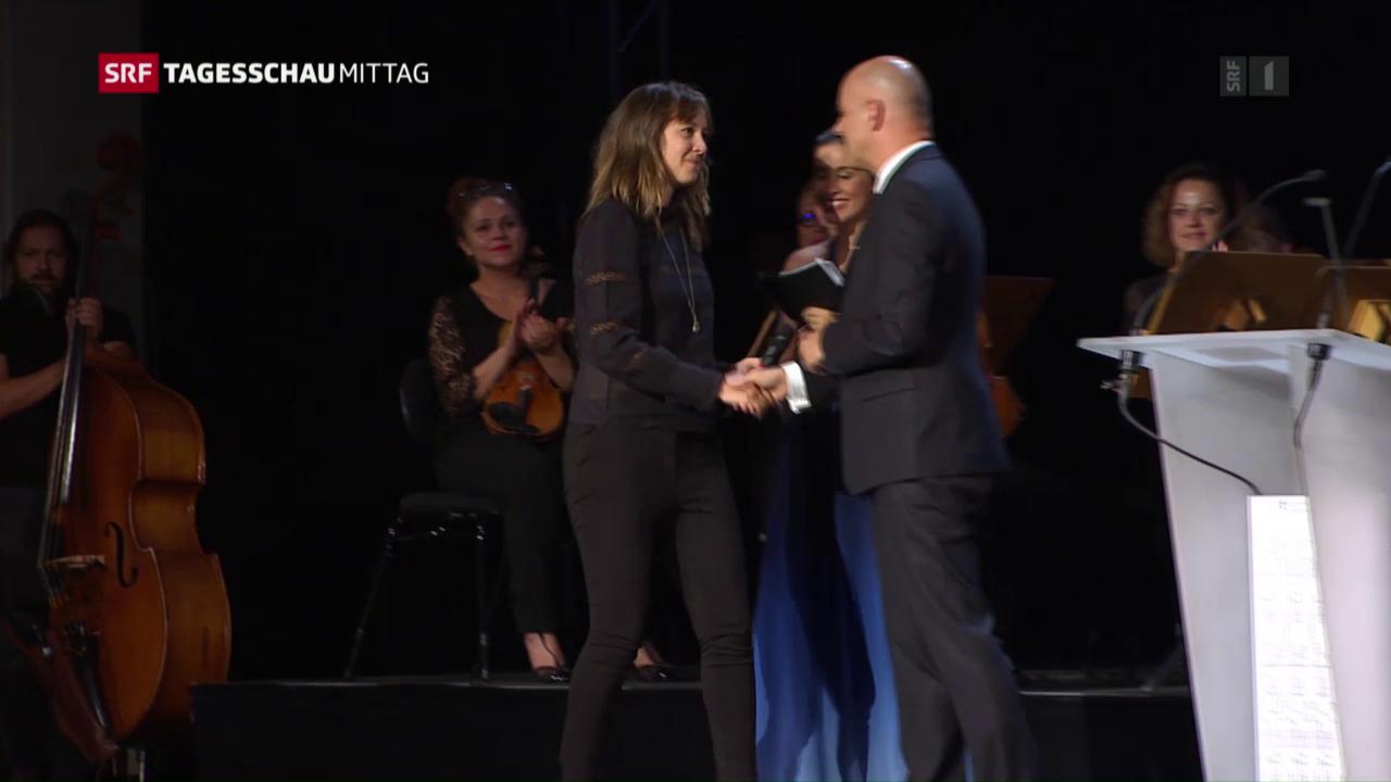 Sophie Hunger gewinnt Musikpreis