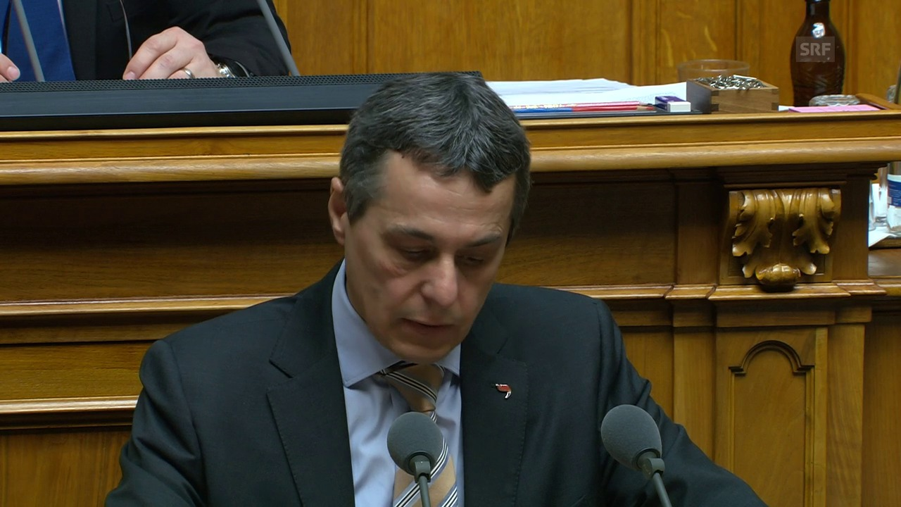 Ignazio Cassis: «Sozialpolitischer Unsinn»