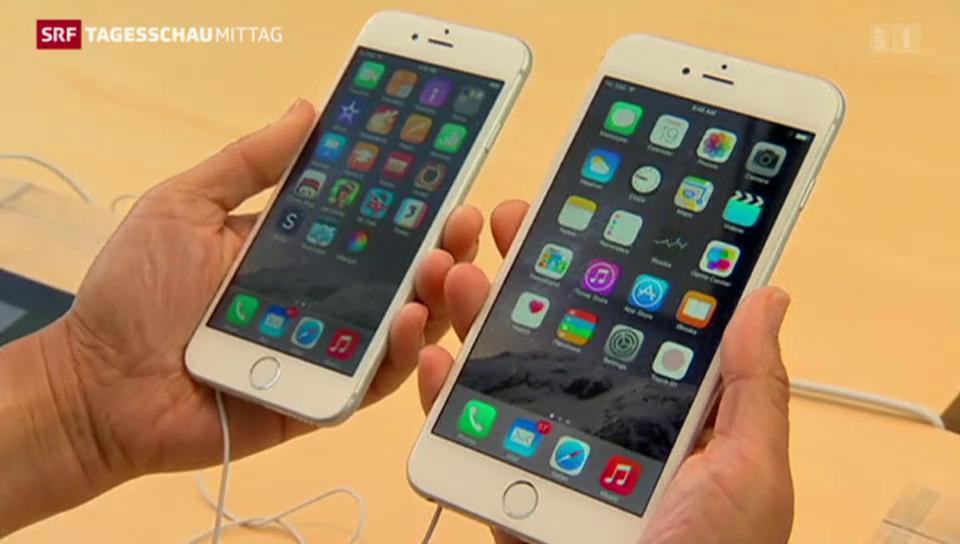 Apple verkauft 34'000 iPhones pro Stunde