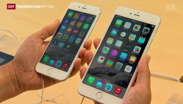 Video «Apple verkauft 34'000 iPhones pro Stunde» abspielen