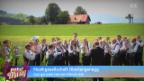 Video «Musikgesellschaft Oberlangenegg, Aus ganzem Herzen Blasmusik» abspielen
