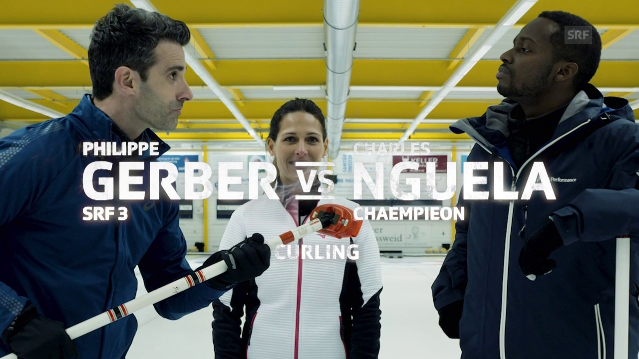 Gerber vs. Nguela im Curling