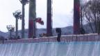Video «Snowboard: Qualifikation Halfpipe Frauen, Nadja Purtschert (sotschi direkt, 12.02.2014)» abspielen