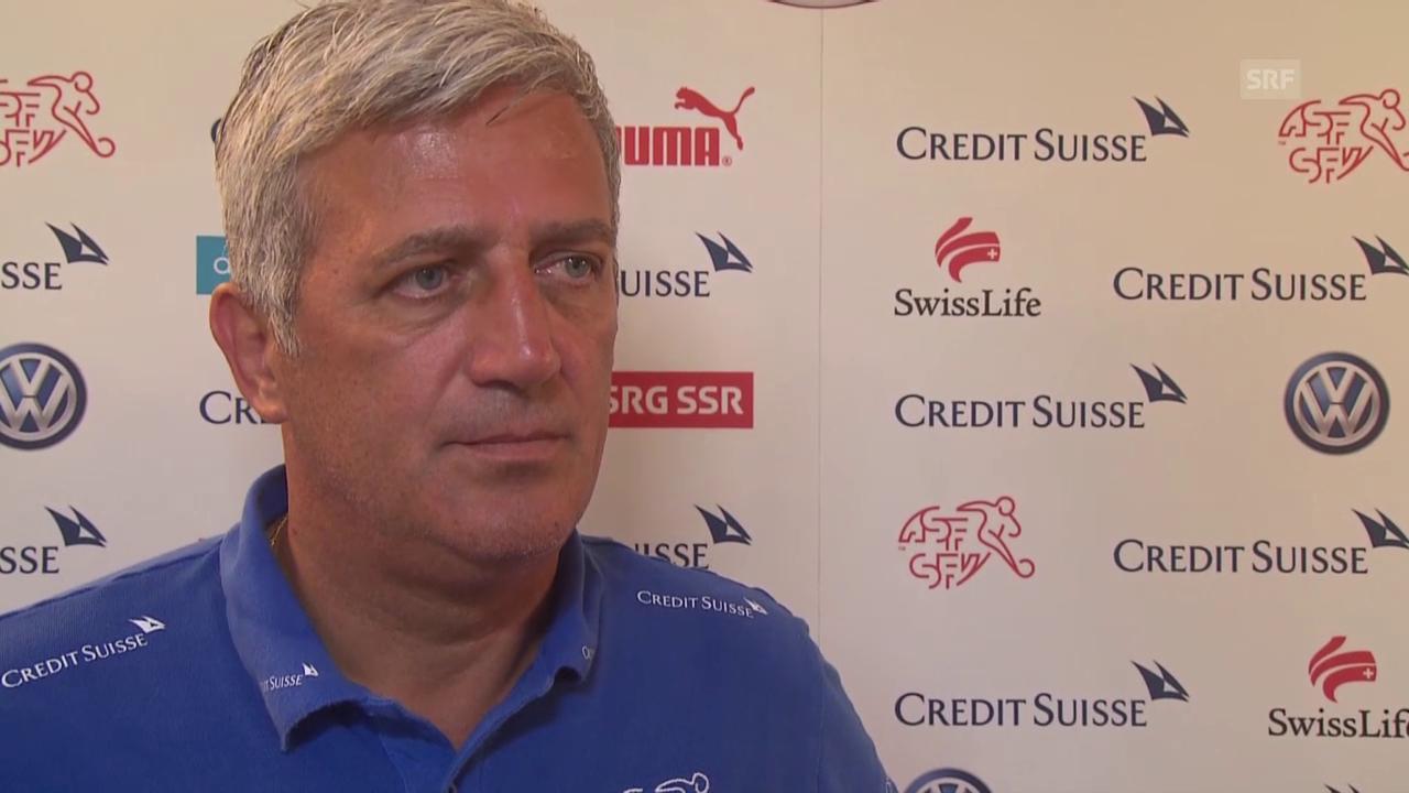 Fussball: Vladimir Petkovic über die Vorbereitung auf das Länderspiel gegen Liechtenstein