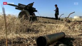 Video «Aufrüstung für den Bürgerkrieg» abspielen