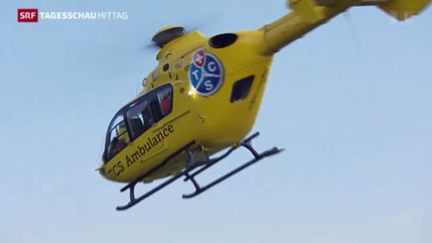 Video «Kanton Aargau: Erst TCS, dann Rega» abspielen